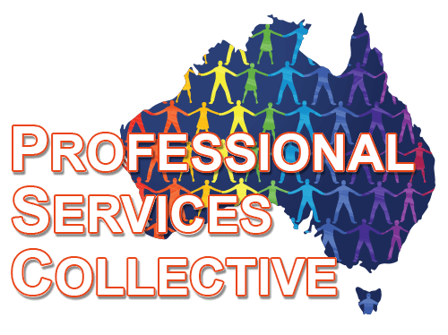 Professional Services Collective - Major Partner Logo